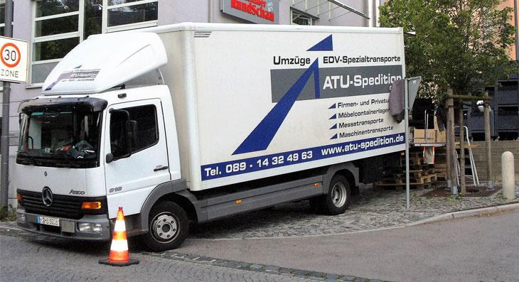 Firmenumzug München
